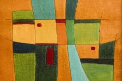 Farben und Formen im Spiel (50 x 50 cm) 200 €