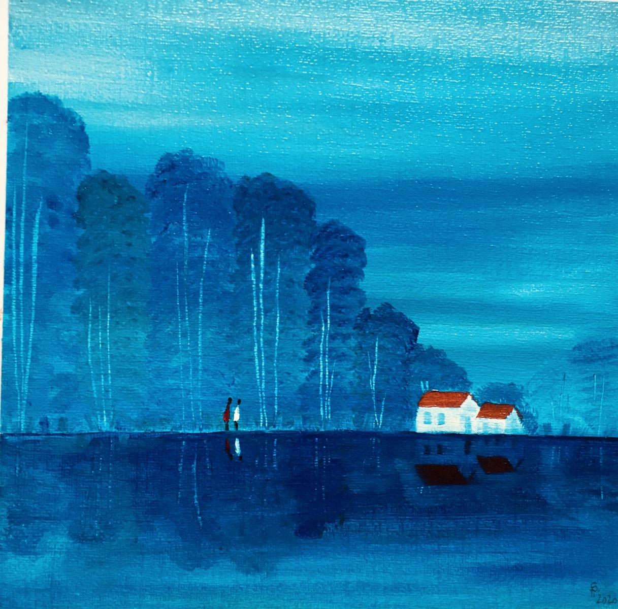 Am See (30x30) verkauft