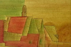 Ein Dorf in Thüringen (30x30) 100 €