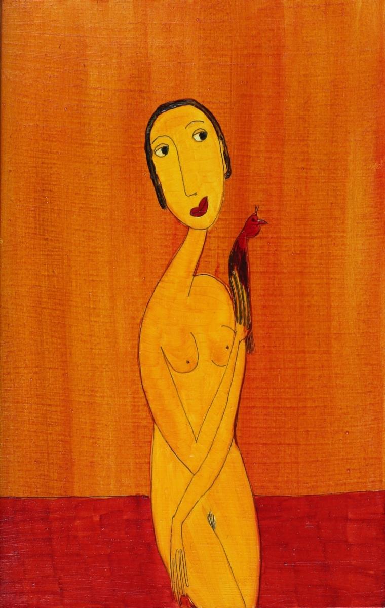 Im Gespräch (217 x 26 cm) 85 €