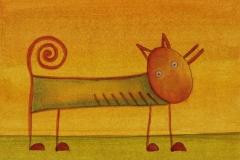 Bist Du ein Fuchs? (10 x 15 cm) 40 €